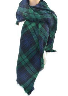 Tartan Blanket Scarf