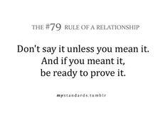 Mixed signals relationships