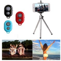 >> Click to Buy << 3 in 1 Rotatable Tripod+ Phone Holder+ Bluetooth Remote for iPhone 7 Samsung LG #R179T# Drop shipping #Affiliate