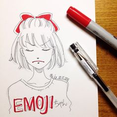 hmmnn | #mekaworks #drawing #emoji
