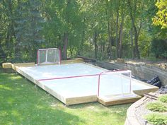 This would so much easier...... synthetic ice!
