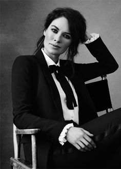 Lena Headey....this tux suit is so sexy....