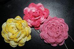 Csodálatos horgolt virágok - Kötés - Horgolás - Kötés – Horgolás