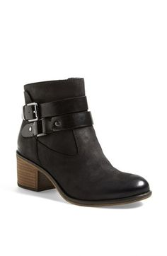 Free shipping and returns on Franco Sarto 'Linden' Leather Bootie (Women) at Nordstrom.com. A blocky, stacked heel and easy almond toe give the belted Linden bootie a season-spanning silhouette that's right on trend.