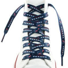 Houston Texans Shoe Laces 54 Inch
