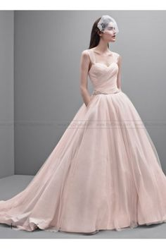 04f8ecc941fb White by Vera Wang Taffeta and Tulle Wedding Dress VW351233 Wedding Dresses  For Sale, Dior
