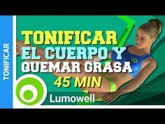 Tonificar Todo El Cuerpo Y Quemar Grasa En 45 Minutos - YouTube #cardiohiit
