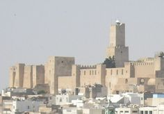 Sousse Kasbah and Light, Sousse, Tunisia