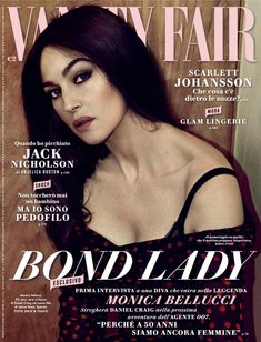 Monica Bellucci Vanity Fair Italia December 2014
