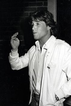 Andy Gibb during Andy Gibb Sighting at Au Fongs Restaurant in Westwood - January 7, 1981 at Au Fongs Restaurant in Westwood, California, United States.