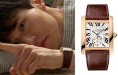 "Lee Dong-Wook in ""Hotel King"" Episode 29.  Cartier Tank MC Watch #Kdrama #HotelKing #호텔킹 #LeeDongWook #이동욱"