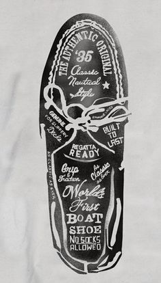 ★ Design / Sperry Top-Sider Illustrations by Glenn Wolk, via Behance