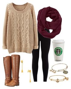 """Untitled #69"" by hgw8503 ❤ liked on Polyvore featuring New Look, Madden Girl, Athleta, Alex and Ani and Gorjana"