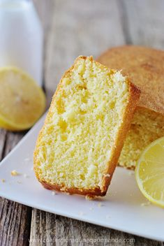 """Cake au citron Blog """"Confessions d'une gourmande"""""""