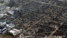 Furacão Sandy deixa rastro de estragos e tristeza nos EUA