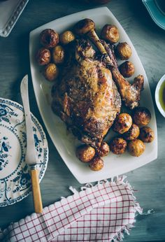 Celebrating Easter with a Greek style Roast Leg of Lamb