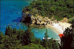 Korfu, Hellas  (Korfu, Greece) - we have been to Korfu, but only one area so we hope to travel more this time :)