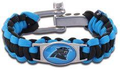 NFL - Carolina Panthers Custom Paracord Bracelet