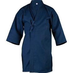 KEIKOGI Used by Kendo and Iaido practitioners our professional Keikogi is a deluxe woven wrap-over jacket with the side slits of jacket skirt edged in cotton tape.