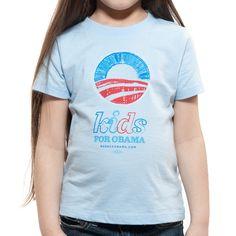 Kids for Obama Light Blue T