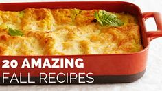 20 Recipes You Need to Taste This Fall >> http://www.ulive.com/playlist/best-fall-recipes