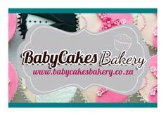 Business Card Front www.babycakesbakery.co.za Business Cards, Bakery, Visit Cards, Bakery Shops, Carte De Visite