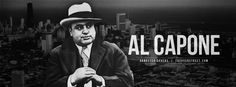"""Alphonse Gabriel """"Al"""" Capone was an American gangster who attained fame during the Prohibition era as the co-founder and boss of the Chicago Outfit. His seven-year reign as crime boss ended when he was 33 years old. Hate Valentines Day, Chicago Outfit, Al Capone, Co Founder, Reign, Gabriel, Crime, American, Cover"""