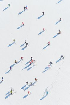 Gray Malin Photography inspiration X 'Deer Valley Skiers' __________ Fineart, ph. Aerial Photography, Art Photography, Documentary Photography, Artistic Photography, Kunst Online, Grafik Design, Belle Photo, Photo Art, Skiing
