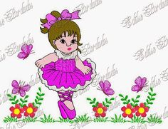 Edilse Bordados: Julho 2014 Towel Embroidery, Janome, Free Machine Embroidery Designs, Minnie Mouse, Disney Characters, Fictional Characters, Stitch, Sew, Embroidery Designs Free