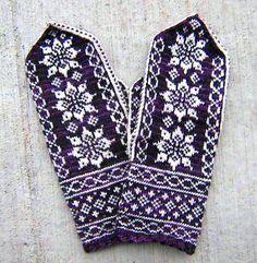 Ravelry: Lotus Mittens free pattern