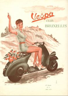 1st National Rally 1953 Brussels | Vespa Club Belgium