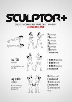 Sculptor Plus Workout                                                                                                                                                     More