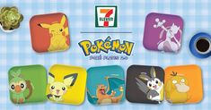 7-Eleven Malaysia: Pokémon 7 Eleven, Iconic Characters, Catch Em All, Charizard, Loyalty, Promotion, Pikachu, Product Launch