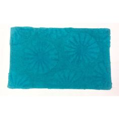 Sand Dollar Cotton Mat - Blue (50cm x 80cm) - Mode Alive - Home Decor Heaven
