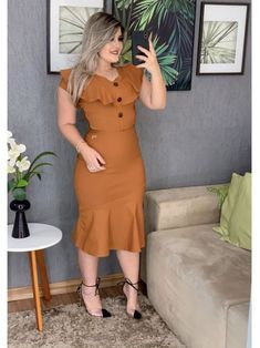 plus size outfits for work womens clothes Dresses For Teens, Simple Dresses, Casual Dresses, Formal Dresses, I Dress, Dress Outfits, Fashion Dresses, Dress Prom, Dress Wedding