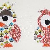 """""""Big Bro"""" Owl Applique Template - via @Craftsy"""