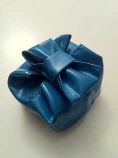 Blue Bow Coin Purse