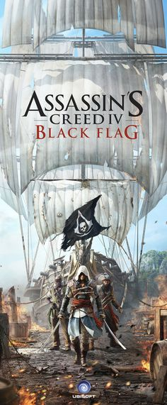Assassin's Creed IV Black Flag by Peter Jaworowski, via Behance