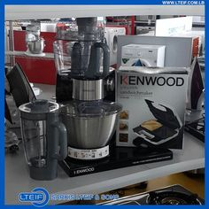 The Kenwood® Chef kitchen machine gives you the freedom and the means to express yourself with delicious meals #Food #Kitchen
