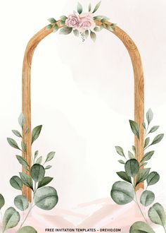 Nice 7+ Simple And Elegant Cheers To 60 Years Invitation Templates With Vines The greenery (of all kinds) can make variety of arrangements dance, shimmer and help move all the attention to them. Thus, it makes them work extremely well either as home or even party décor. ...