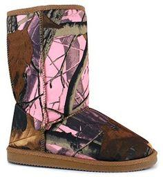 Oak Club® Camo Boot available at SHOE DEPT. ENCORE #camo #pinkcamo #fallfashion