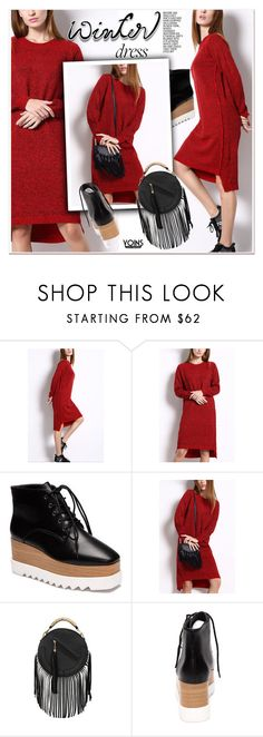 """""""Winter Dresses Under $100"""" by paculi ❤ liked on Polyvore featuring under100, yoins, yoinscollection and loveyoins"""