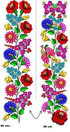 Hand Embroidery Designs, Embroidery Patterns, Cross Stitch Patterns, Glass Painting Patterns, Newspaper Art, Embroidered Leaves, Hungarian Embroidery, Heart Art, Yarn Crafts