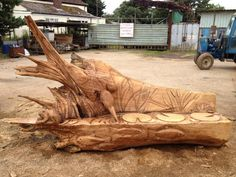 chainsaw carved benches | worry if i haven t carved something similar or you can t see a picture ...