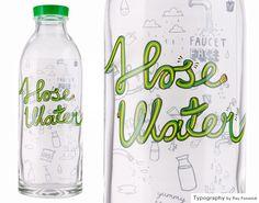 Hose Water Glass Bottle