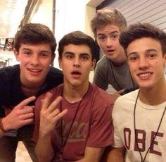 Shawn, Jack G, Jack J, Cameron.