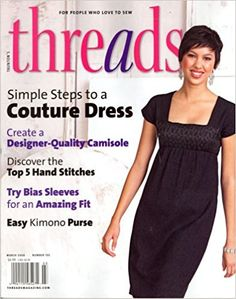 Threads, March 2008 Issue: Editors of THREADS Magazine: Amazon.com: Books