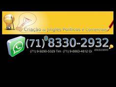 *GuGu NaS TeCLaS - ARRANJOS MUSICAS*  (71) 9 8330-2932 claro WhatsApp (71) 9 9290-5329 tim (71) 9 8863-4812 oi E-mail: gugunasteclas@gmail.com *GRAVAÇÃO - DIREÇÃO MUSICAL - SHOW AO VIVO* Aceito Cartões de Crédito e Débito  *JINGLES POLITICOS E COMERCIAIS CRIATIVOS E COM ALTA QUALIDADE SONORA*