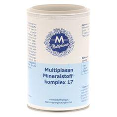 MULTIPLASAN Mineralstoffkompex 17 Tabletten 350 Stück online bestellen - medpex Versandapotheke