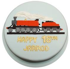 railroad cake pics for adult Train Birthday Party Cake, 70th Birthday Cake For Men, Birthday Desert, Birthday Cakes For Men, Male Birthday, 70 Birthday, Train Party, Birthday Ideas, Dad Cake